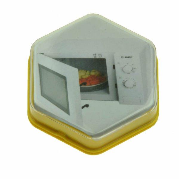 103004G - Praatknop Geel met Afbeelding