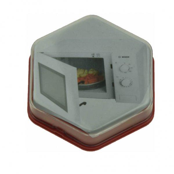 103004R - Praatknop Rood met Afbeelding