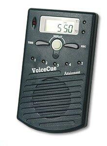 Gesproken boodschappen (VoiceCue) als alarm te gebruiken voor bijvoorbeeld medicijninname of herinnering. Met 5 instelbare alarmmomenten