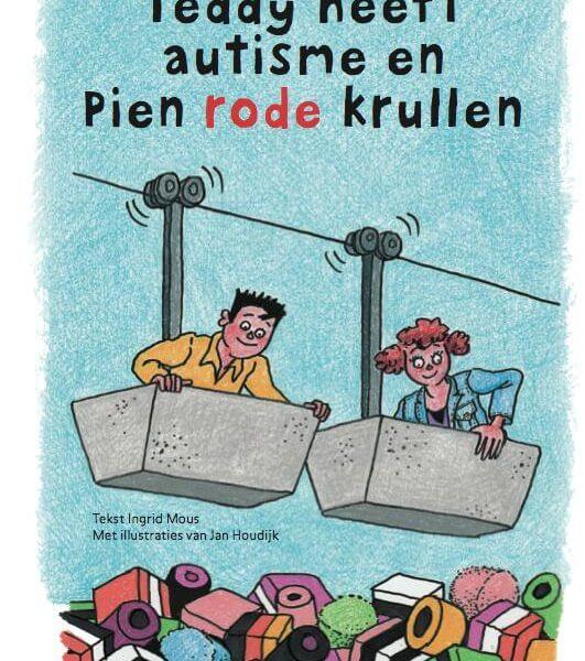 Teddy heeft autisme en pien rode krullen. Eindelijk een boek dat, op een positieve en inzichtelijke manier,uitlegt wat autisme nu écht is.