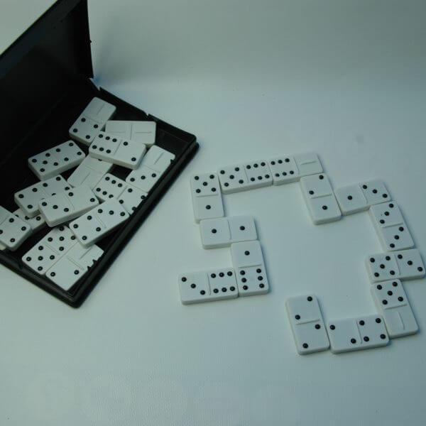 Domino, geschikt voor mensen met een beperkt gezichtsvermogen