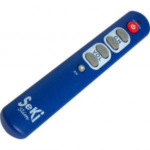 Seki Slim blauw afstandsbediening