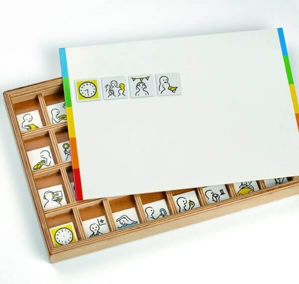 Kidspicto pictogrammen individuele schoolset