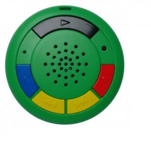 Deze Multi memo spraakrecorder is van hoge kwaliteit waarmee wel 60 spraakberichten kunnen worden opgenomen, afgespeeld en bewaard.
