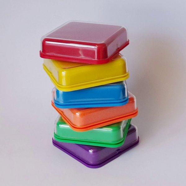 Bundel 6 kleuren Praatknoppen
