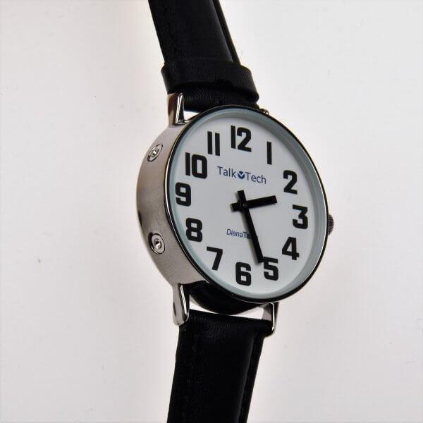 Analoog Nederlands sprekend horloge 'Diana'