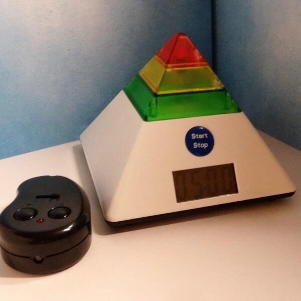 Timer Piramide met afstandsbediening