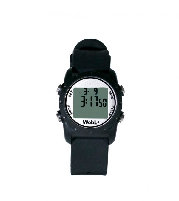 Waterdichte Wobl horloge Zwart