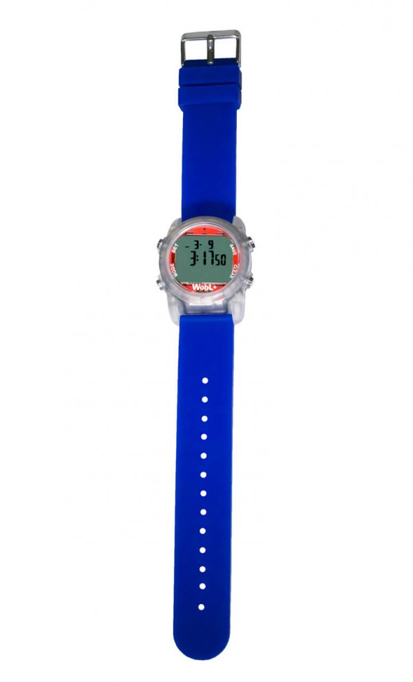 Waterdichte Wobl horloge Blauw