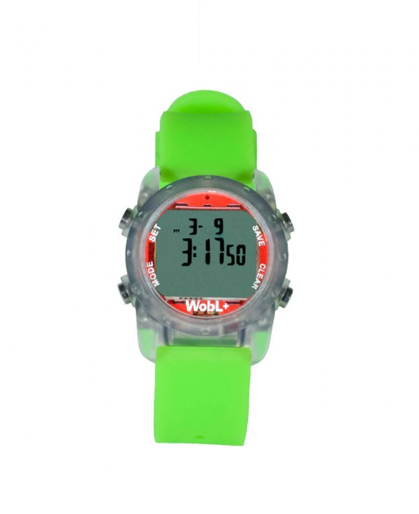 Waterdichte Wobl horloge Groen