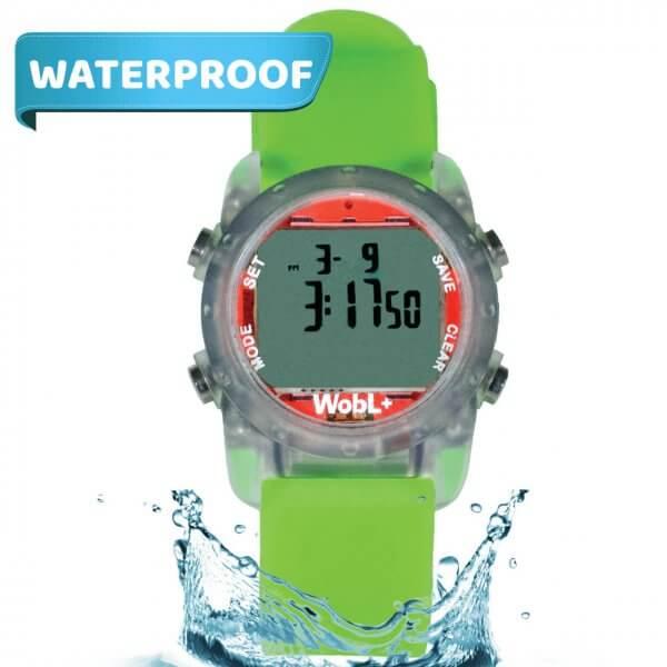 Waterdicht kinder medicijn-plashorloge is een zeer UNIEK horloge.