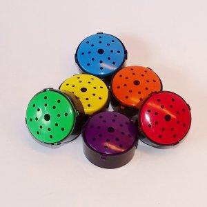 Praatknoppen in set van 6 kleuren(Talking Points) met 10 seconden opnametijd