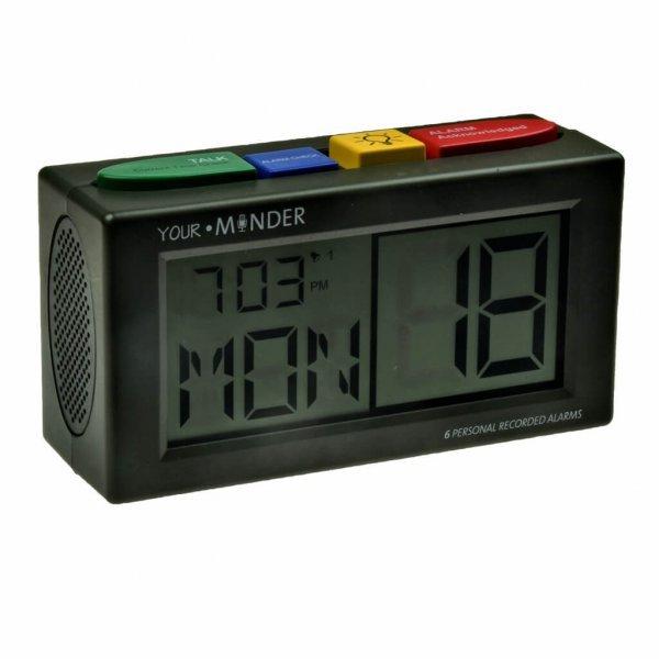 mc klok spraak en eigen ingesproken alarmboodschap