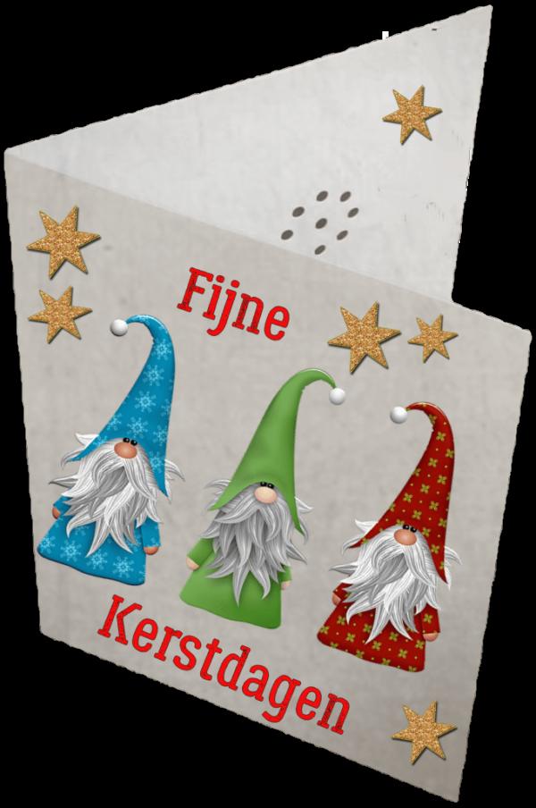 Sprekende Kaart met eigen boodschap. Kerstkaart