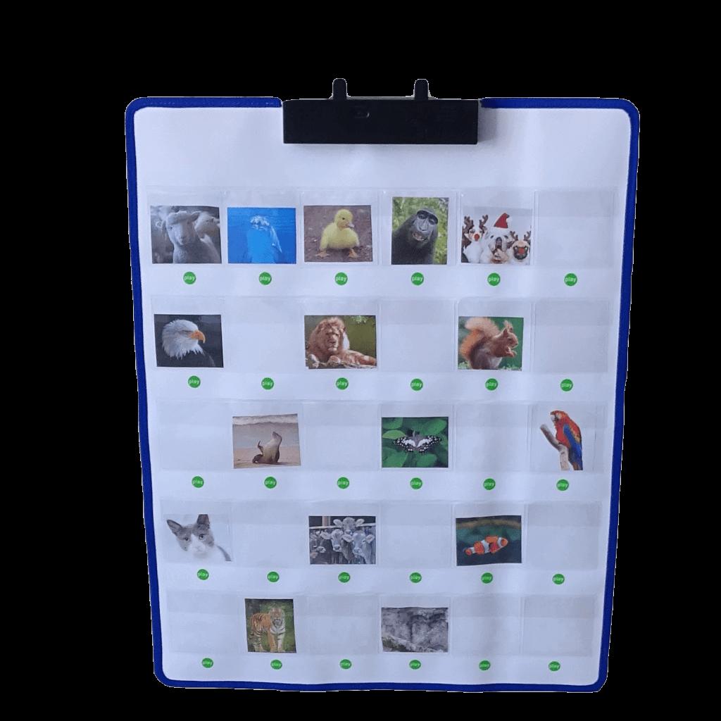 Nieuw Pratende pictowand (interactive wall) leerzaam en leuk. - Geheugenhulp CF-28