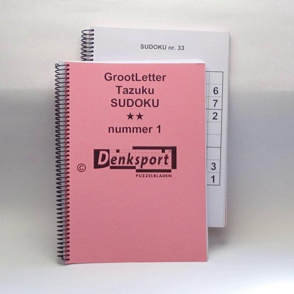groot letter Sudoku puzzelboek
