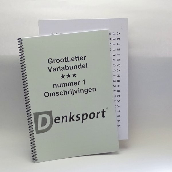 Denksport Groot letter Varia bundel