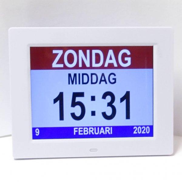Analoge of Digitale kalenderklok