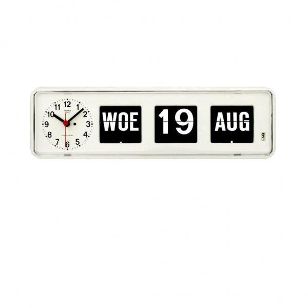 Groot letter Tafelklok met kalender