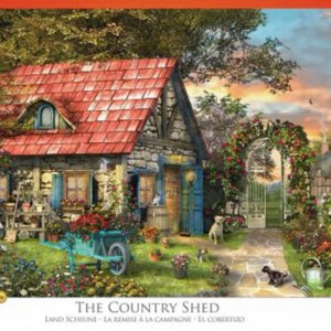 XL-legpuzzel country shed