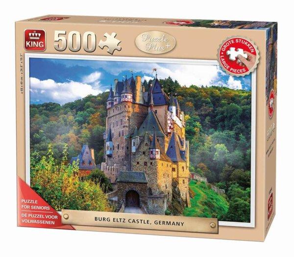 XL-legpuzzel Burg Eltz in Duitsland
