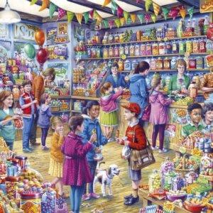 XL-legpuzzel Snoepwinkeltje met 500 extra grote stukjes