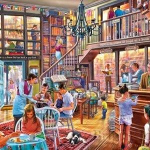 XL-legpuzzel Bibliotheek met 500 extra grote stukjes