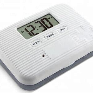 Medicijnalarm/pillendoos met 5 tril- en geluid alarmen