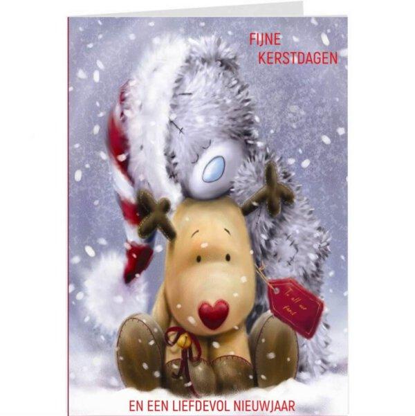 Sprekende Wenskaart met je eigen boodschap voorbeeldkaart kerst