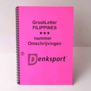 Denksport Groot letter Filippines